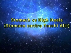 Stomach vs High Heels (Stomach Demolition - Fetish Obsession) Thumb