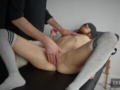 Kinky BDSM Peeing bondage on cold floor. Man pissing in shower. Male Golden watersports. Wet and Pissy urine urinating pissen. Dutch Holland Thumb