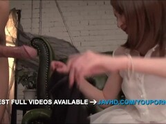 Rikka Anna amazing asian blowjob with sensual Thumb