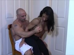 Spandex Dick Grinding till orgasm Thumb