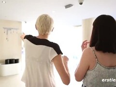 All Natural Lesbians Making Very Erotic Love - Ersties Thumb