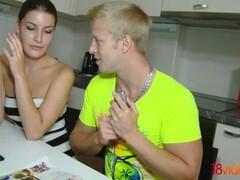 18videoz - Zena Little - Teeny taking anal for cash Thumb