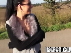 MOFOS - Euro teen Zuzana will do anything for some extra money Thumb