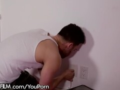 DevilsFilm Abella Danger Cheats with Handyman! Thumb