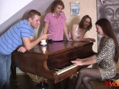 18videoz - Alice Marshall - Margarita C Peachy - Fucking to classical music Thumb
