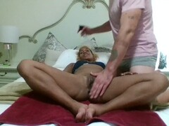 Yoni Massage and Fuck Thumb