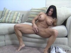 Angela Salvagno Huge Labia Big Clit Huge Dildo Thumb