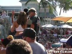 Pussy Flashing Pool Party Slut Contest 2018 Key West p1 Thumb