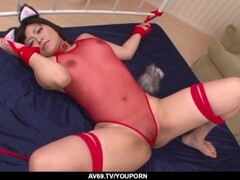 Aika Hoshino enjoys great inches in her pink cherry - More at 69avs.com Thumb