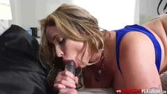 PORNSTARPLATINUM Busty Mature Eva Notty Talks Dirty Solo Thumb